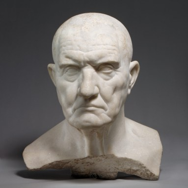 Portrait bust of a man
