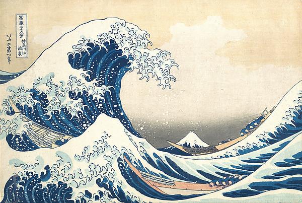 The Great Wave off Kanagawa by Katsushika Hokusai (1830-1832)
