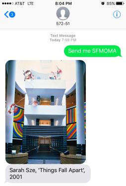 """Send Me """"SFMOMA"""""""