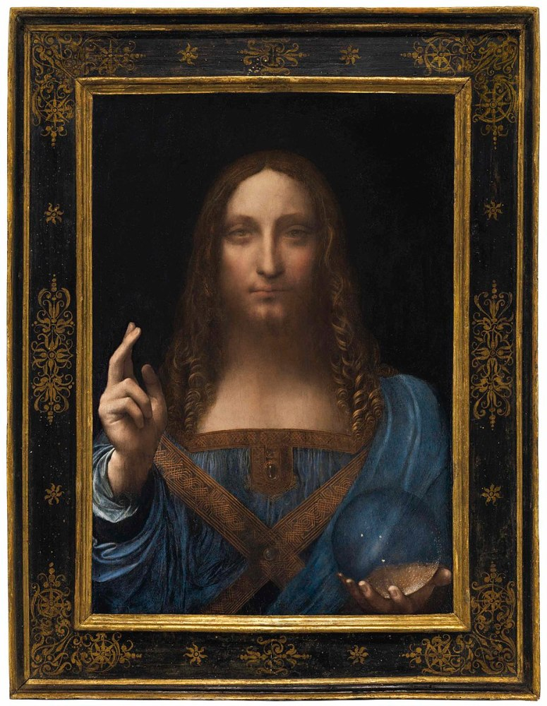 Leonardo Da Vinci, Salavtor Mundi, 1500