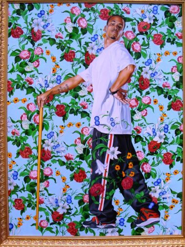 La Roi a La Chase by Kehinde Wiley