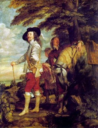 Charles I at the Hunt by Anthony Van Dyck (1635)