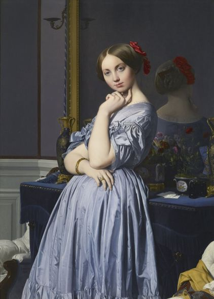 Comtesse d'Haussonville by Jean Auguste Dominique Ingres