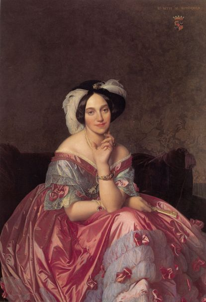 Baronne James de Rothschild by Jean Auguste Dominique Ingres